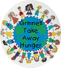 grinnell take away hunger logo
