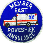 East Poweshiek Ambulance patch
