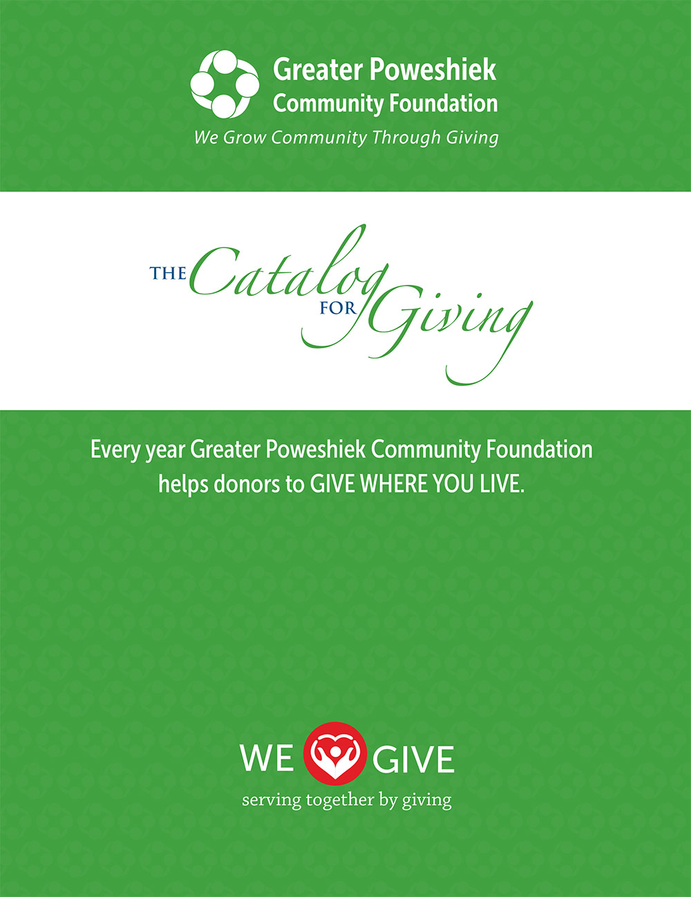Catalog of Giving cover