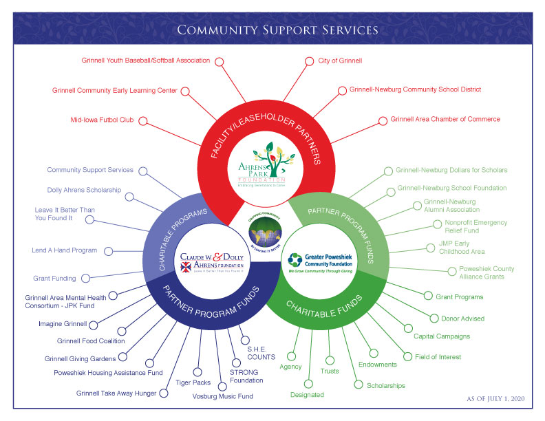 Community Support Services Infographic