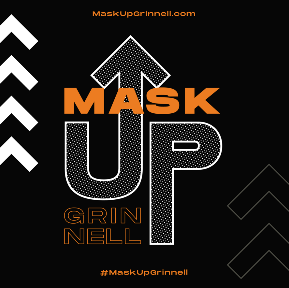 Mask Up Grinnell logo