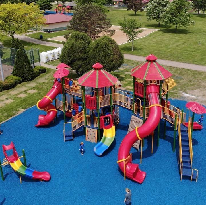 Ahrens Park playground equipment