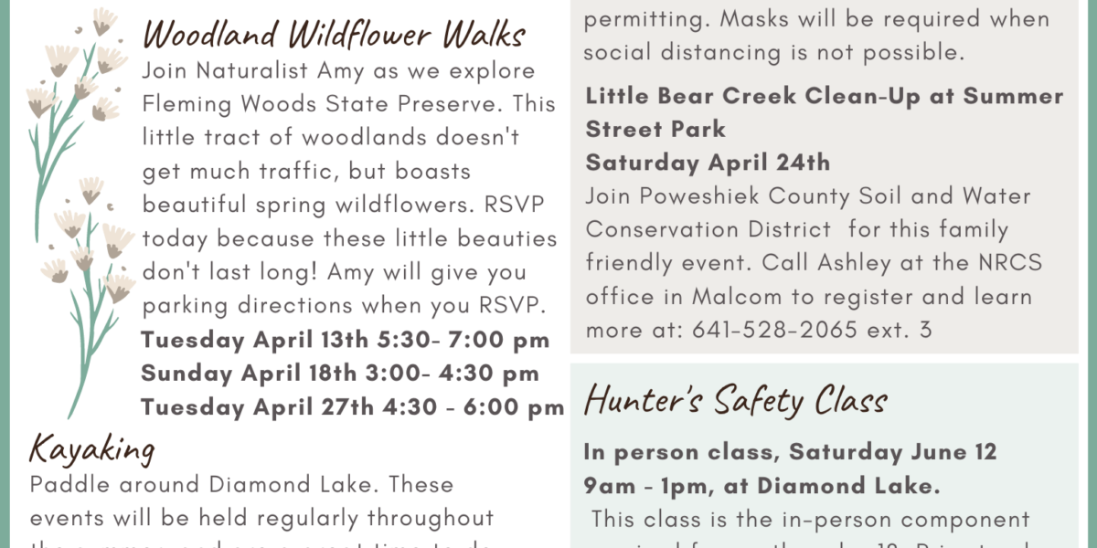 Upcoming events! Grab a printable version here:   Contact Amy with RSVPs, que...