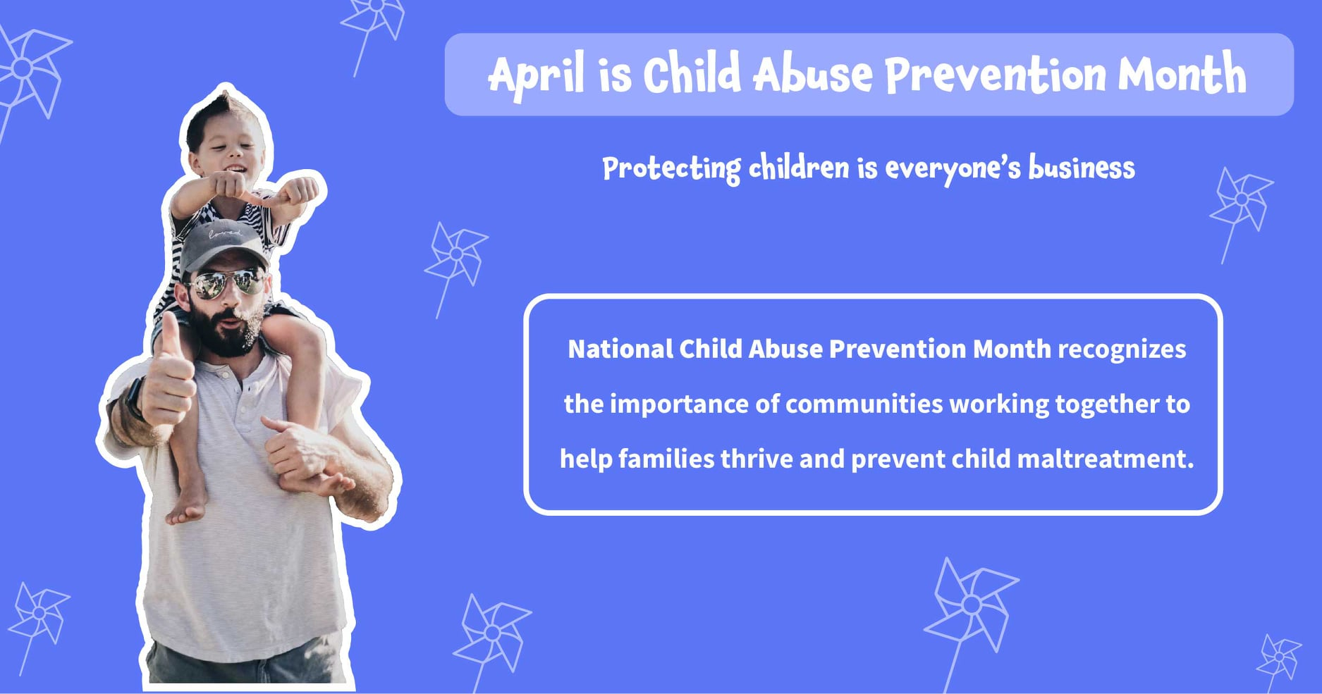 April is Child Abuse Prevention Month.  GPCF supports many programs that are d...